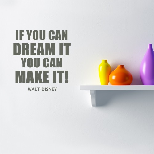 Dream Wall Quote Decal