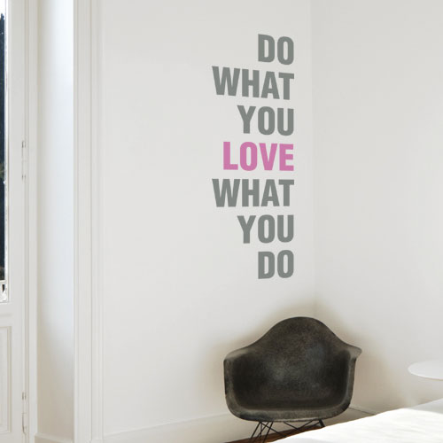 wall sticker quote love