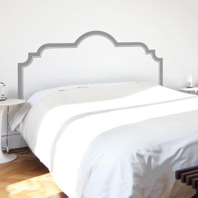 Royal Bed Headboard Wall Decal