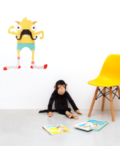Carlos The friendly Wall Decal Monster