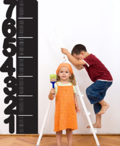 Height Chart Wall Decal