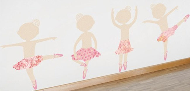 Awesome Girls Room Decor Girly Wall Decal ideas