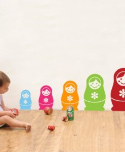 Babushka kids Wall Decal