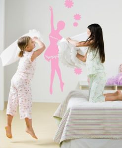 Kids Wall Decal Ballet Dancer