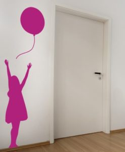 Balloon kids Wall Decal