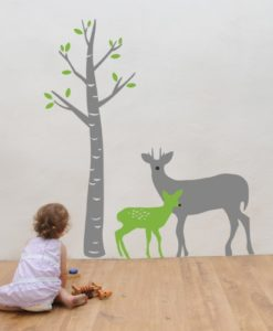 Bambi kids Wall Decal