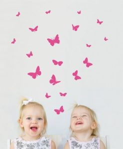 Butterflies kids Wall Decal