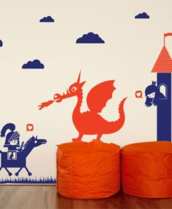 Dragon Kids Wall Decal