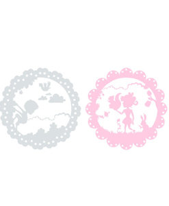 Wall Stickers Fairy Tail Grey & Pink