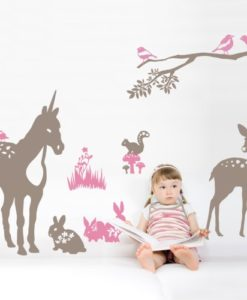 Forest Kids Wall Decal