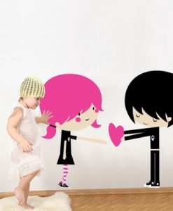 Kids Wall Decal I Love You