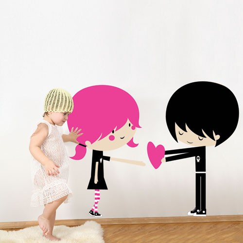 Kids Wall Decal I Love You Children Wall Stickers - Wall decals love
