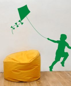 Wall Decal Kite Green