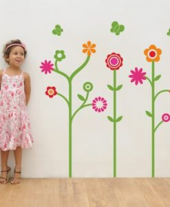 Little Garden Kids Wall Decal