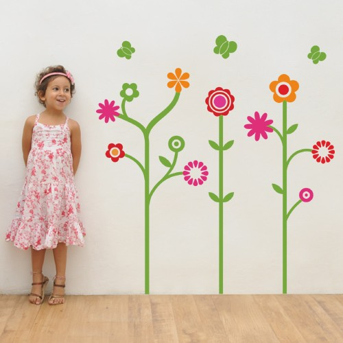 Bon Little Garden Kids Wall Decal