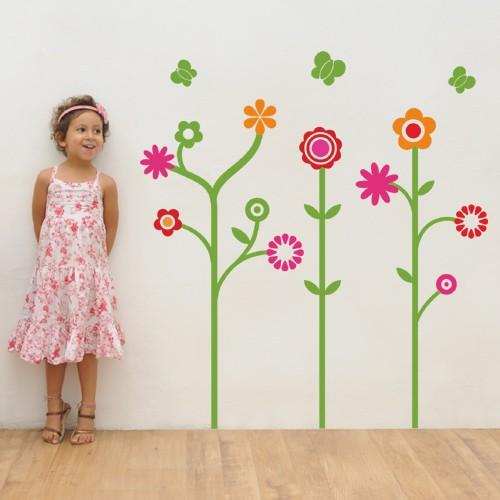 Little Garden Kids Wall Decal