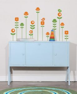 Lollipop flowers Kids Wall Decal