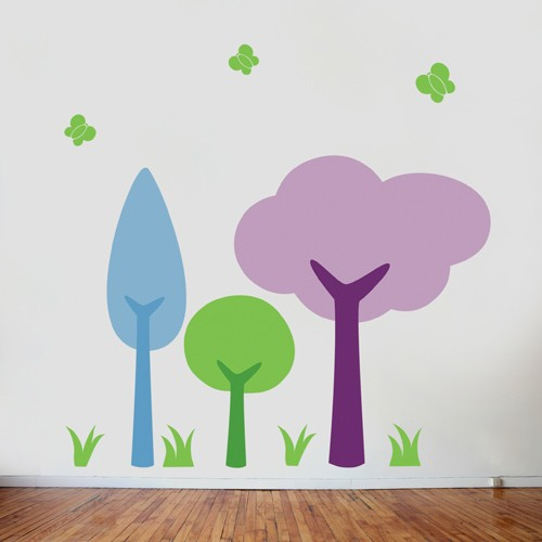 My Little Forest Kids Wall Decal