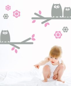 Owls Kids Wall Decal