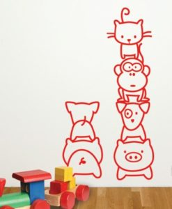 Wall Decal Party Animal