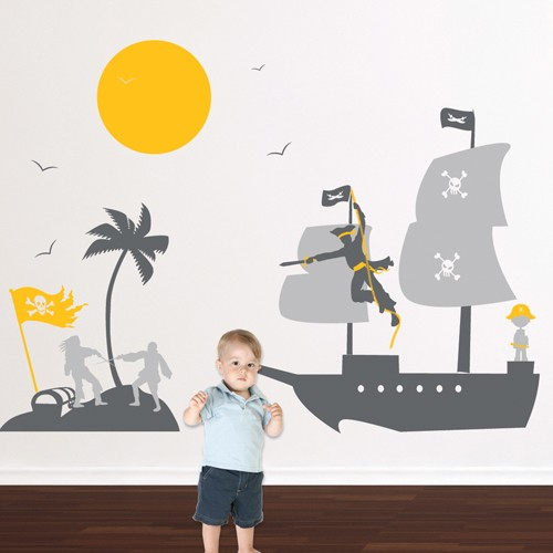 Kids Wall Decal Pirates