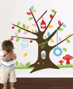 Kids Wall Decal Wish Tree