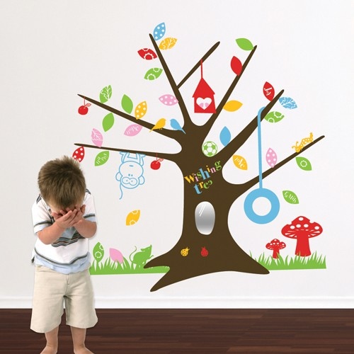 Fresh Wish Tree Kids Wall Decal