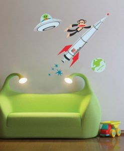 Wall Decal Astronaut - Paul Frank