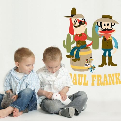 Paul Frank Cowboys Wall Decal
