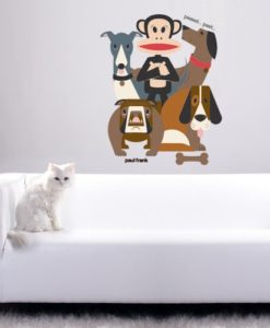Wall Decal Dogs - Paul Frank