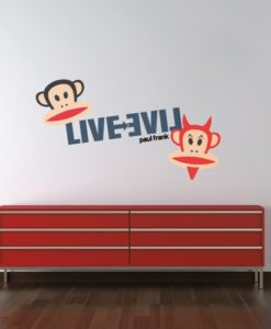 Wall Decal Good Guy Bad Guy - Paul Frank