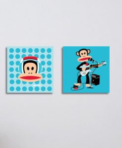 Wall Pictures Set Headset - Paul Frank