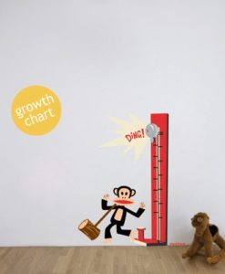 Wall Decal Julius Growth Chart - Paul Frank