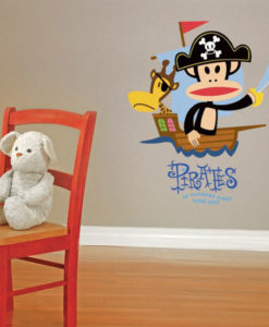 Wall Decal Julius The Pirate - Paul Frank