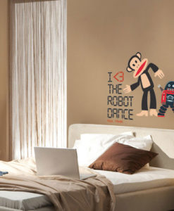 paul frank robot wall sticker