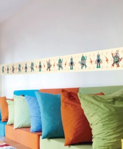 Wall Border Decal Robots - Paul Frank