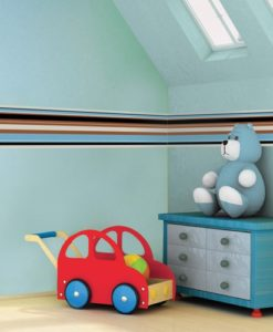 Wall Border Decal Stripes - Paul Frank