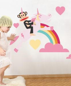 Wall Decal Unicorn Love - Paul Frank 1