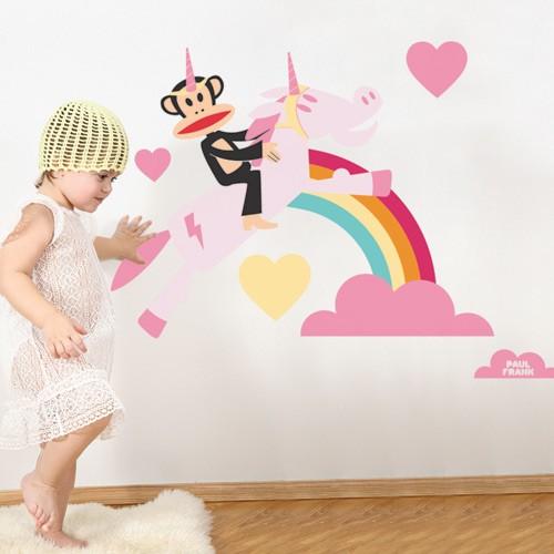 Wall Decal Unicorn Love - Paul Frank 1