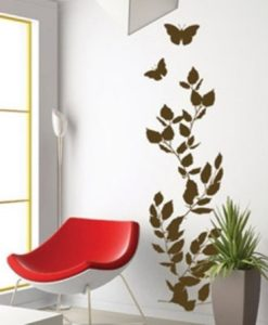 Wall Decal Autumn Leaves