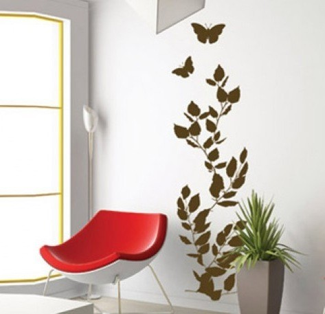 Wall Decal Autumn Leaves Wall Stickers For Bedrooms - Wall decals leaves