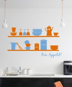 Wall Decal Bon Appetit