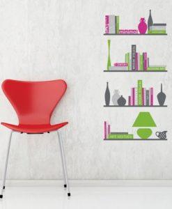 Wall Decal Book Shelves