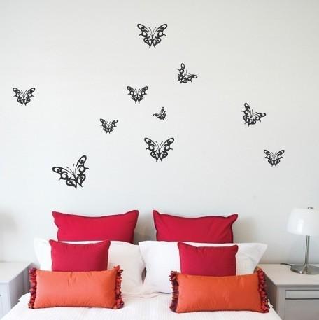 Wall Decal Butterflies Butterfly Wall Stickers - Wall decals butterflies