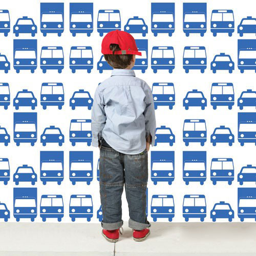 Wall Decal Cars Pattern Pattern Wall Stickers - Wall decals cars