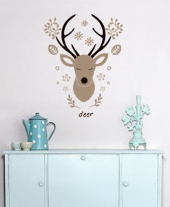 wall decal deer 4make