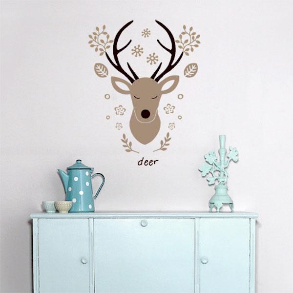 wall decal deer 4make