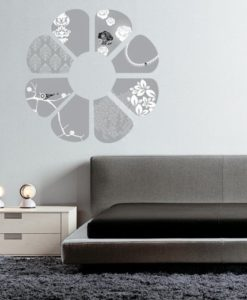 wall decal elegant flower