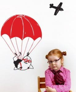 Wall Decal Extreme Wally