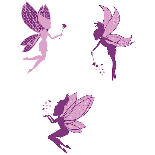 Sticker giant coupon - Wall Decal Magic Fairies Fairy Wall Stickers Coolwallart